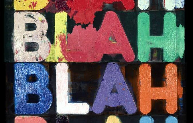 4_Mel_Bochner_Blah_blah_blah_2011_Galerie_Two_Palms©Courtesy_de_l_artiste_Two_Palms