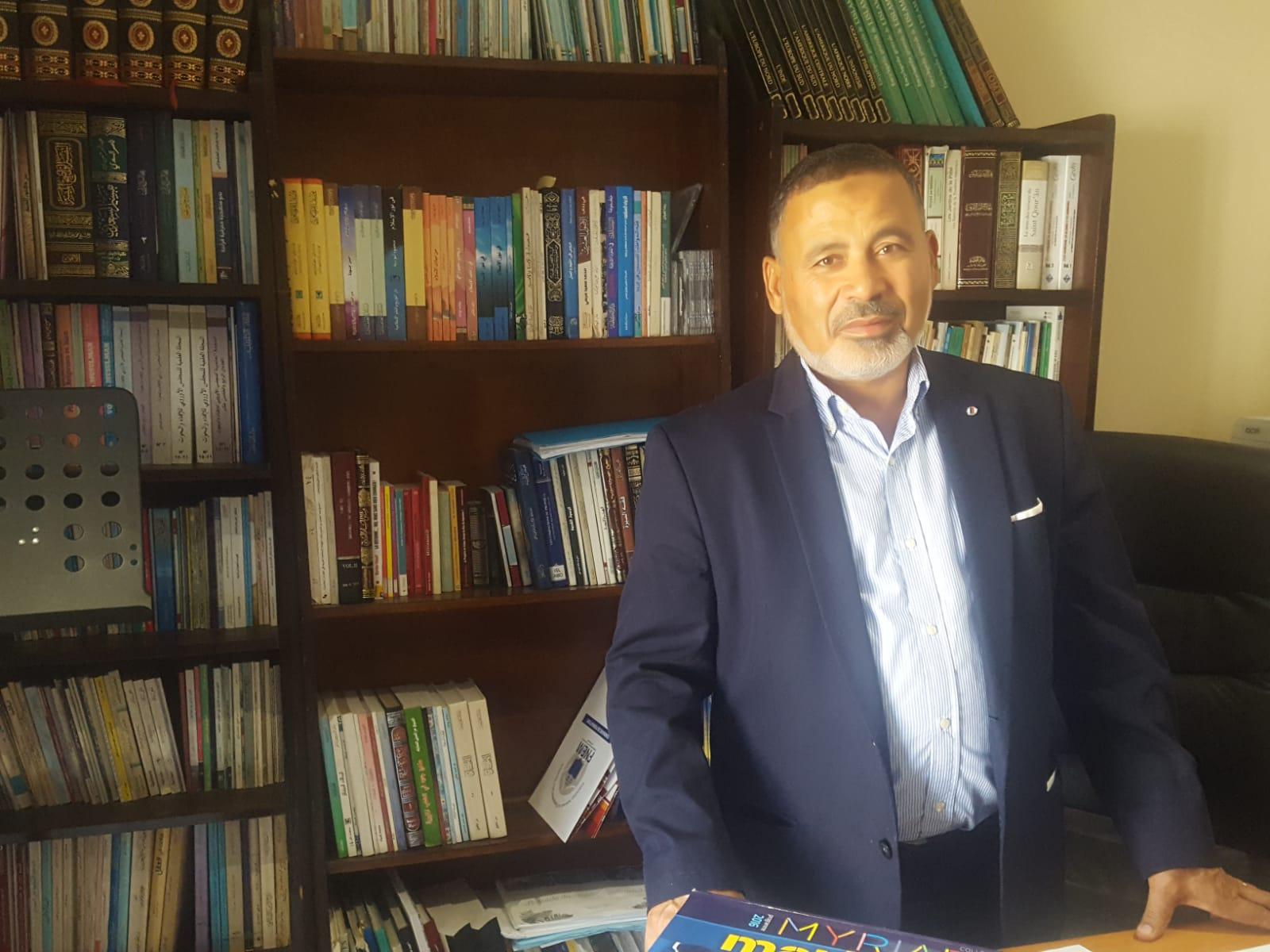 chef d'établissement ibn khaldoun collège lycée privé musulman Marseille M.Ngazou