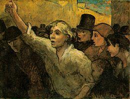 Daumier la révolte