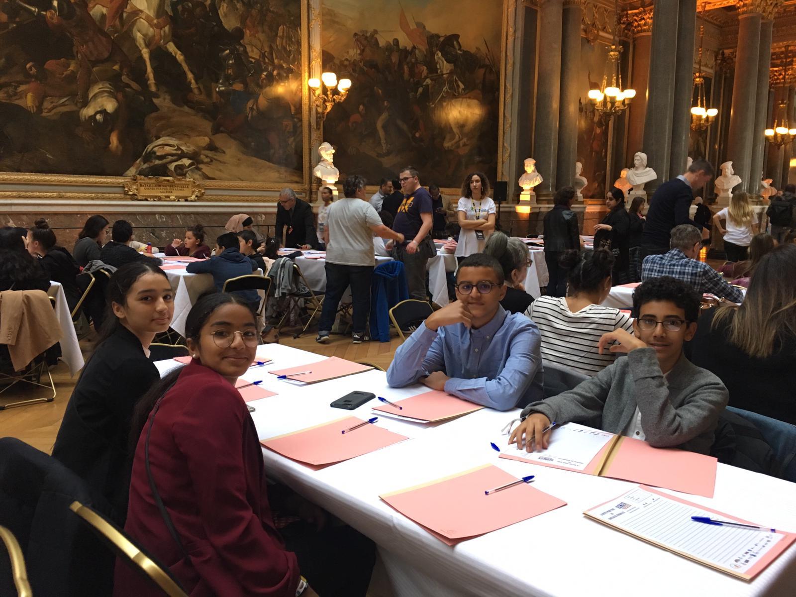 collège lycée Ibn Khaldoun au château de Versailles